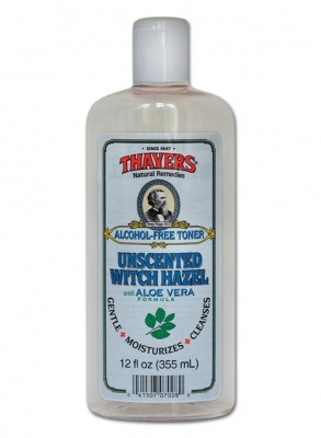 Thayer's Alcohol Free Toner, Unscented Witch Hazel with Aloe