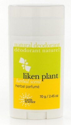 Earth Science LiKEN Plant Deodorant  scented
