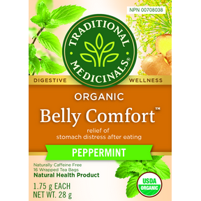 Traditional Medicinals Belly Comfort Peppermint