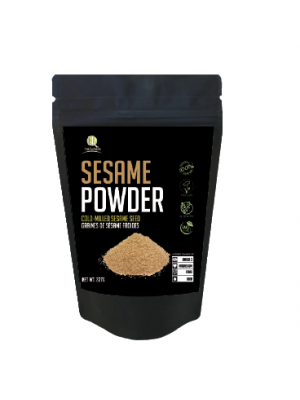 BR Naturals Sesame Seed Ground, Raw