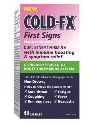 Cold-Fx Cold FX First Signs -Echinacea