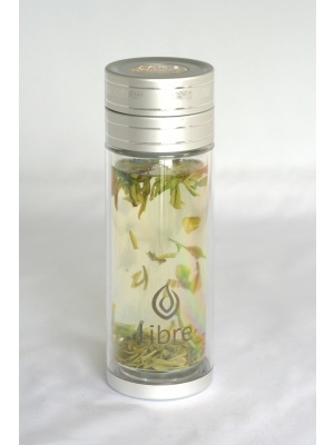 Libre Infusers Classic Glass Infuser (Silver)