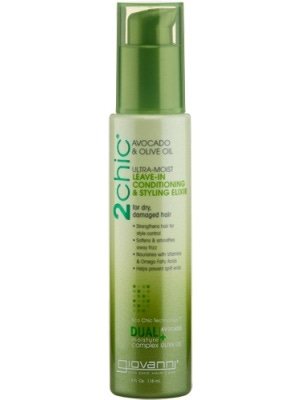 Giovanni 2chic Avocado & Olive Oil Leave In Conditioning & Styling Elixir