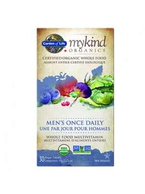 Garden of Life mykind Organic Men's Once Daily