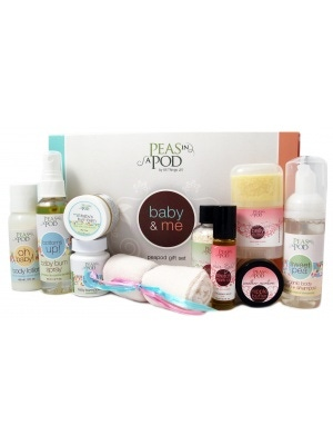 Peas In A Pod Baby & Me Peapod Gift Set
