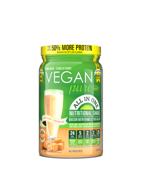 Vegan Pure All in One Protein Slt Caramel