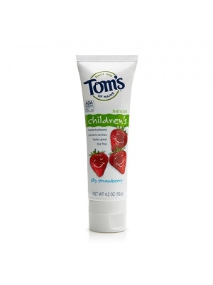 Tom's of Maine Silly Strawberry Children's Toothpaste