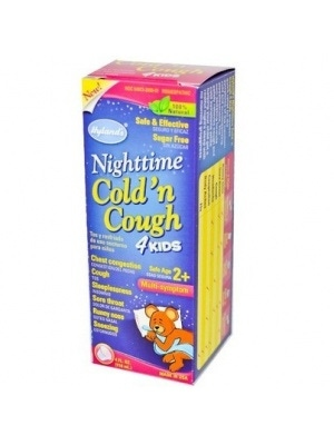 Nighttime Cold 'n Cough 4 Kids