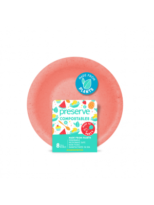 Compostables Bowls 8ct Red