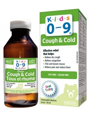 Homeocan Kids Phytux H 0 to 9 Syrup