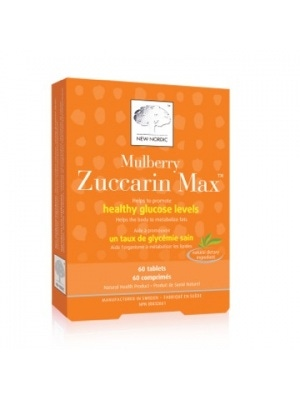 New Nordic Mulberry/Zuccarin Japanese Mulberry Extract 60 Tablets