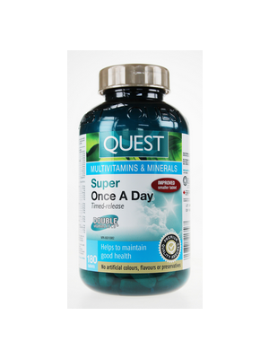 Quest Super Once A Day Multivitamins & Minerals Timed Release