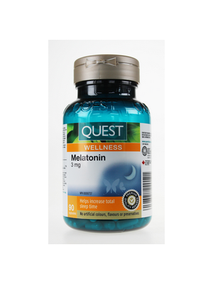 Quest The Quest for Health Melatonin 3 mg