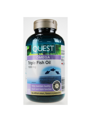 Quest The Quest for Health Triple Fish Oil 1000 mg
